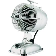 Vornado Zippi Desk Fan by Desk Fan Casafan Retrojet 24 W ø X H 18 2 Cm X 32 Cm Silver