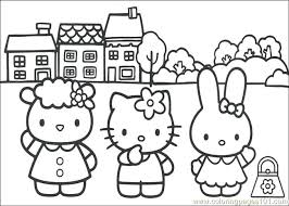 Remarkable Hello Kitty Print Out Coloring Pages Printable Page For Kids And Adults