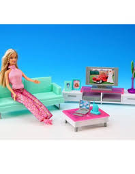 Barbie Living Room Furniture Set by Miniature Furniture My Fancy Life Salon B For Barbie Doll House