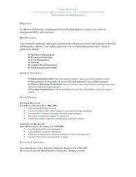 Resume Examples For Restaurant Similar Posts Restaurant Server