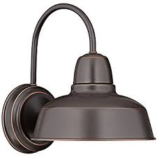 barn 11 1 4 high bronze indoor outdoor wall light