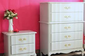 Kent Coffey French Provincial Dresser by French Provincial Bedroom Set Painted Using Fine Paints Of