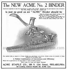 Acme No 2 Staple Binder
