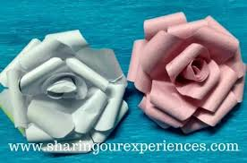 Now Quickly Grab All The Material Required To Make These Beautiful Handmade Crepe Paper Rose Flowers Of Colours