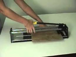 Kobalt Tile Cutter Replacement Wheel by How To Use The Nattco Tile Cutter Youtube