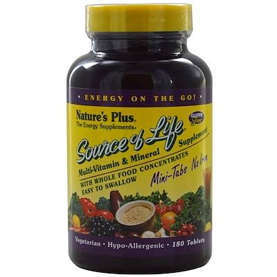 Nature's Plus Source of Life Supplement - 180 Tablets