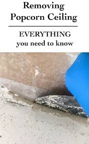 Popcorn Ceilings Asbestos Testing by Best 25 Removing Popcorn Ceiling Ideas On Pinterest Remove