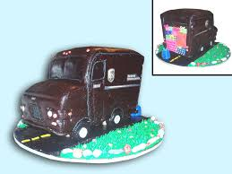 100 Ups Truck Toy Cake CakeCentralcom