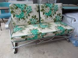 Patio Furniture Loveseat Glider by Best 25 Midcentury Gliders Ideas On Pinterest Maternity Chair