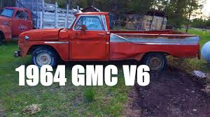 First Start In 15 Years! 1964 GMC Custom Cab Pickup 305 V6 Part 1 ...