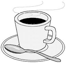 Coffee Clip Art Black And White