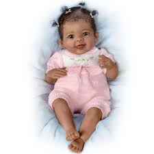 Amazoncom Linda Murray So Truly Real Poseable Baby Doll With Plush