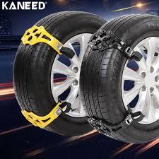 PVC Plastic Snow Chains Car Snow Tire Anti Skid Chains 6PCS Car Tire ...