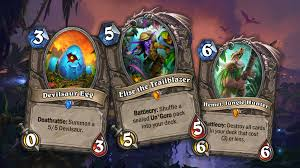 hearthstone knights of the frozen throne creating death knights