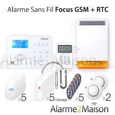 maison sans fil focus gsm et rtc de 7 pièces avec garage