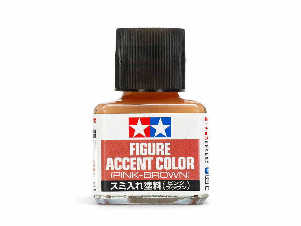 Tamiya - Panel Line Accent Color 40ml, Pink-Brown - 87201