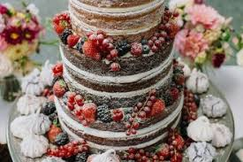 These Truly Scrumptious Semi Naked Wedding Cake Rustic Cakes You Have To See