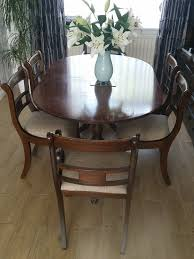 Dining Table + 6 Chairs ( 2 Carvers) | In High Wycombe, Buckinghamshire |  Gumtree Antiques From Georgian Antiquescouk Lovely Old Round Antique Circa 1820 Georgian Tilt Top Tripod Ding Table Large Ding Room Chairs House Craft Design Table 6 Chairs 2 Carvers In High Wycombe Buckinghamshire Gumtree Neo Style English Estate Dk Decor Modern The Monaco Formal Set Ding Room Fniture Fine Orge Iii Cuban Mahogany 2pedestal C1800 M 4 Scottish 592298 Sellingantiquescouk The Regency Era Jane Austens World Pair Of Antique Pair Georgian Antique Tables Collection Reproductions