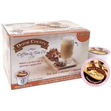 Sea Salt Caramel Cappuccino Single Serve Cups