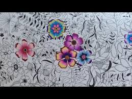 Sharing How I Color The Magical Water Lily Pond With Prismacolor Premier Colored Pencils Coloring Book Secret Garden By Johanna Basford P