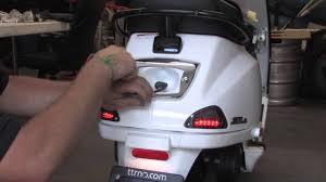 BMW Style LED Tail Light For Vespa LX S