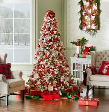 Kmart Christmas Tree Skirt by Jaclyn Smith Christmas Tidings Complete Tree Decorating Kit Kmart