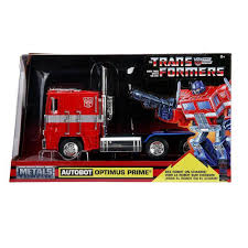 G1 Autobot Optimus Prime Truck Red Wrobot On Chassis From ...