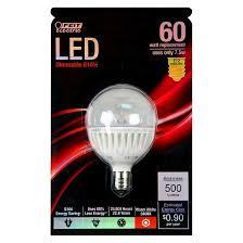 feit 60 watt g16 candelabra base led light bulb soft white target