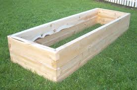 Seemly Raised Cedar Box Garden To her With Yard Design Plus