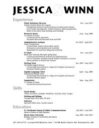 Best Resume Format For Students Sample College Student Resumes Graduate Unbelievable Templates