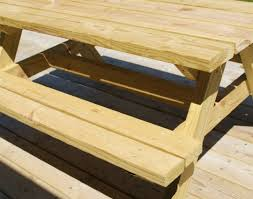 table amazing picnic table designs treated pine octagon walk in