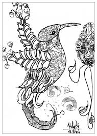 Free Complex Coloring Pages Printable WDCI0