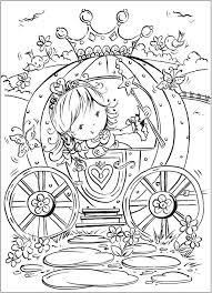 Pretty Princess Coloring Book SheetsKids ColoringAdult