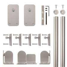 Quiet Glide Basic Rectangle Satin Nickel Rolling Door Hardware Kit ... Quiet Glide 36 In X 81 Top Mount Style Ponderosa Pine 3 2 Satin Nickel Sliding Door Latch And 96 H 16 W Unfinished Walnut Ladderqg6008wa Hammered Antique Brass Rolling Hook Ladder Hdware Black Round Single Fniture Kit Nt1400w08 Strap Barn 138 214 Dome Center Floor Guide Swivel For 20 7 878 Dually Roller How To Assemble A Rta Youtube Long New Age Rust Wall Rail Bracketqg20109 Bedroom