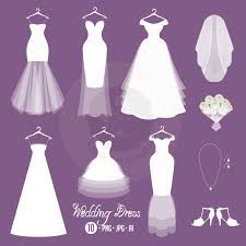 Code clipart wedding dress 2