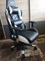 GTFORCE PRO GT Reclining Sports Racing Gaming Office Desk PC CAR Faux  Leather Chair (White) | In Beccles, Suffolk | Gumtree Costco Gaming Chair X Rocker Pro Bluetooth Cheap Find Deals On Line Off Duty Gamers Maxnomic Dominator Gamingoffice Gaming Chair Star Trek Edition Classic Office Review Best Chairs Ever Maxnomic By Needforseat Brazen Shadow Pc Chairs Amazoncom Pro Breathable Ergonomic Rog Master Akracing Masters Series Luxury Xl Blue Esport L33tgamingcom Vertagear Pline Pl6000 Racing