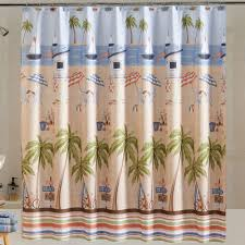 Blue Medallion Curtains Walmart by Mainstays Catching Rays Fabric Shower Curtain Walmart Com