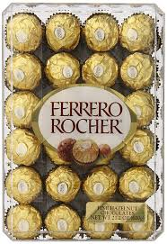 Ferrero Rocher Christmas Tree 150g by Ferrero Rocher Hazelnut Chocolates 21 1 Oz Amazon Ca Grocery