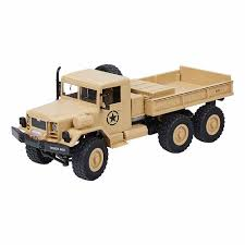100 Rc 4wd Truck 15KMH Military MZ YY2003 24G 4WD 112 Off Road RC Car