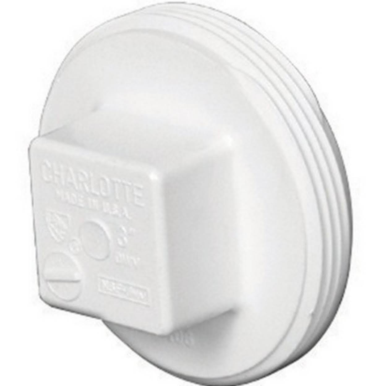 Charlotte Pipe PVC Cleanout Plug - 1 1/2""