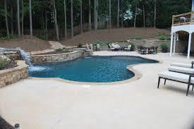 hilltop custom pool in acwort ga modern atlanta by hilltop