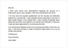 Awesome Pharmacy Technician Letter Best Examples and