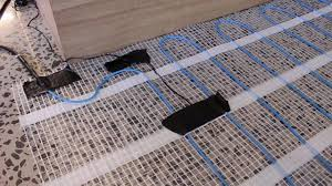 Warm Tiles Easy Heat Instructions by Answered How To Install An Underfloor Electric Heating Mat Youtube