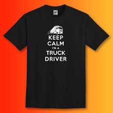Keep Calm I'm A Truck Driver T-Shirt | Trucker Gifts – Sloganite.com Truck Driver Gifts Drink Cofee Be Amazing And Sleep Trucker Coffee 114 Scale Cargo Action Figures Men Blue With Official Title Badass Fathers Day Gift 2018 Hot Sale Super Fashion Clothing Male Crossfit T Shirt _ Truck Driver Gift Ideas Popular Everything Videos Idea For 18 Mens Dad Shirt Employee Recognition Awards Shirts Funny Tshirt Asphalt Cowboy Key Chain Semi Charm