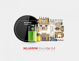 Floor Mopping Robot India by Milagrow Launches Blackcat 3 0 Floor Cleaning Robot In India