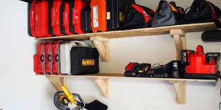 Build Wood Garage Shelf by Diy Garage Storage Favorite Plans Ana White Projectsplans For Wood
