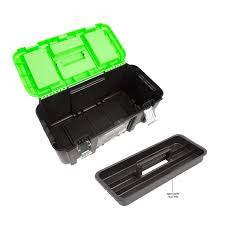 100 Plastic Truck Toolbox OEMTOOLS 22179 19 Tool Box With Removable Tool Tray Amazoncom
