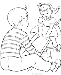 Beautiful Kids Printable Coloring Pages 92 About Remodel Books With