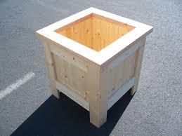 cedar planter boxes wooden flower box plans window boxes