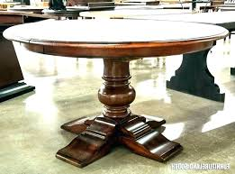 Expandable Dining Room Table Expanding Hardware Round Tables Extendable